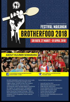 Brother Food Festival 2018