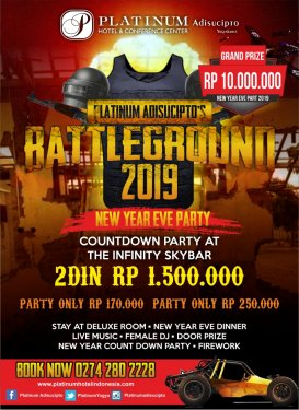 Battleground 2019 New Year Eve Party