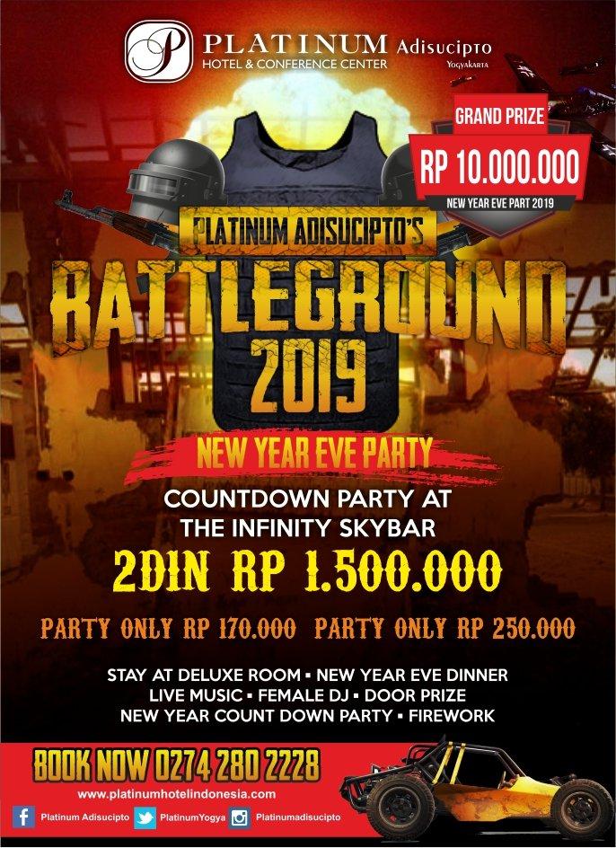 Battleground 2019 New Year Eve Party