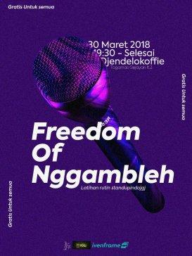 Freedom Of Nggambleh  #270