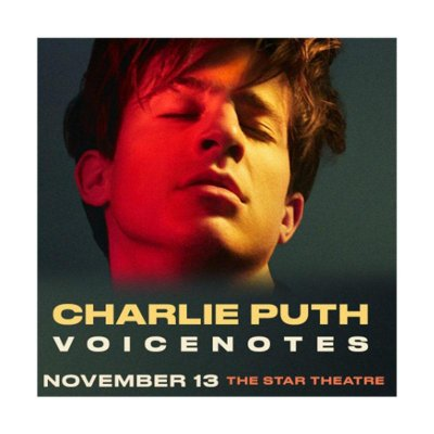 Charlie Puth 'The Voicenotes Tour' Live in Singapore 2018