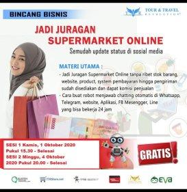 Seminar Online Top Store di zoom