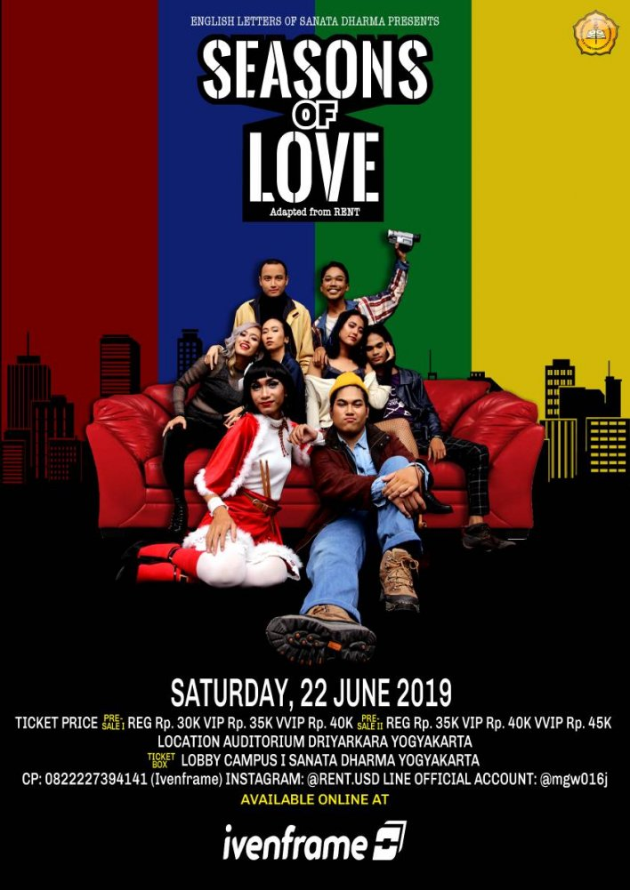 """Seasons of Love"" The Musical"