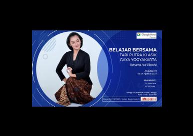 Kursus Online Tari Putra Klasik Gaya Yogyakarta