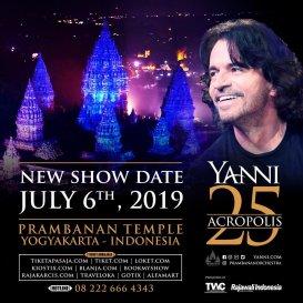 """YANNI """"25th Anniversary Acropolis"""""""
