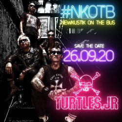 #NewKustikOnTheBus x Turtles Jr