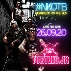 #NewKustikOnTheBus x Turtles Jr