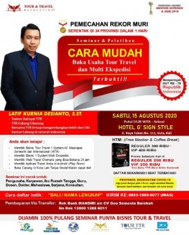 Seminar Tour Travel & Multi Kurir di Bali
