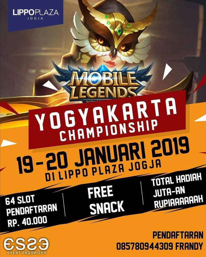 MOBILE LEGEND YOGYAKARTA CHAMPIONSHIP