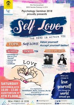 Psychology Seminar: Self-Love