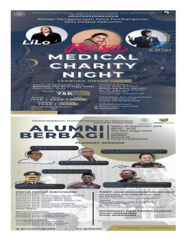 MERIDIAN : ALUMNI BERBAGI & MEDICAL CHARITY NIGHT 2019