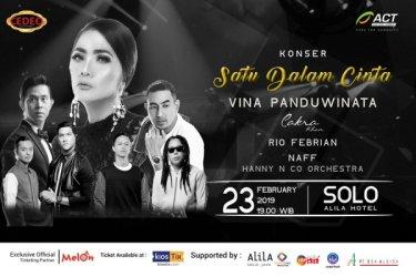 Konser Satu Dalam Cinta Solo Vina Panduwinata & Rio Febrian