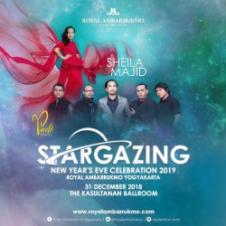 STARGAZING NEW YEAR'S EVE 2019 ROYAL AMBARRUKMO YOGYAKARTA