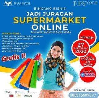 Seminar Online Top Store zoom