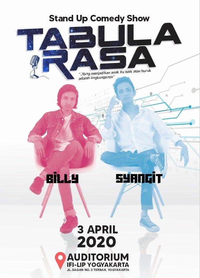 Tabula Rasa Stand Up Comedy Show