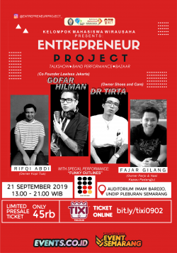 TALKSHOW Entrepreneur Project