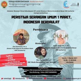 "PERISTIWA SERANGAN UMUM 1 MARET ""INDONESIA BERDAULAT"""