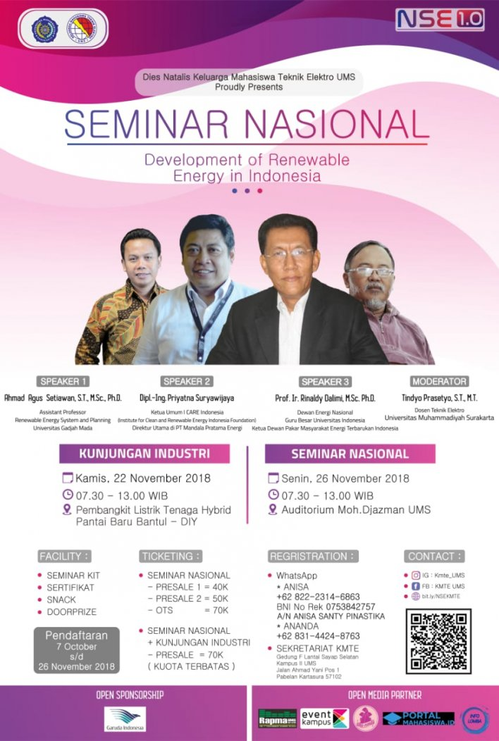NATIONAL SEMINAR OF ELECTRICITY