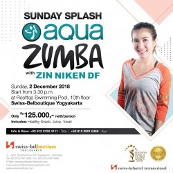 Sunday Splash - Aqua Zumba with ZIN ZIKEN DF