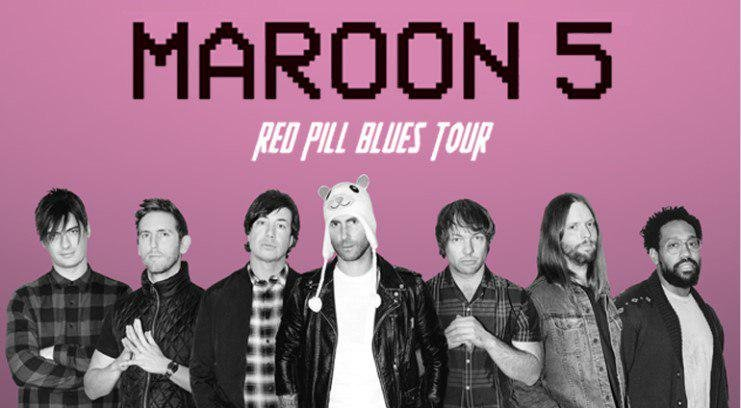 Maroon 5 Red Pill Blues Tour 2019 in Singapore