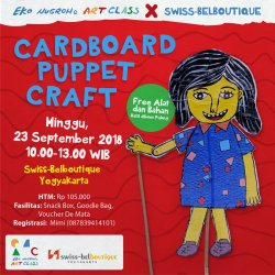 Workshop - Cardboard Puppet Craft