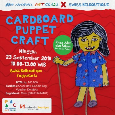 Workshop - Cardboard Puppet Craft