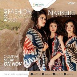 "Jogja Fashion Rendezvouz 2020 ""Niwasana Khatulistiwa"""