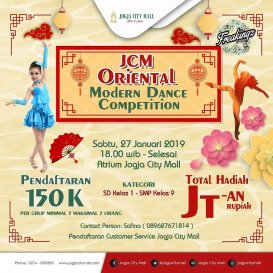 JCM Oriental Modern Dance Competition