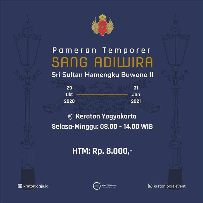 Pameran Temporer Adhyatmaka: Sang Adiwira Sri Sultan Hamengku Buwono II