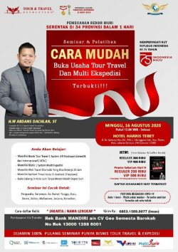 Seminar Tour Travel & Multi Kurir di  Jakarta
