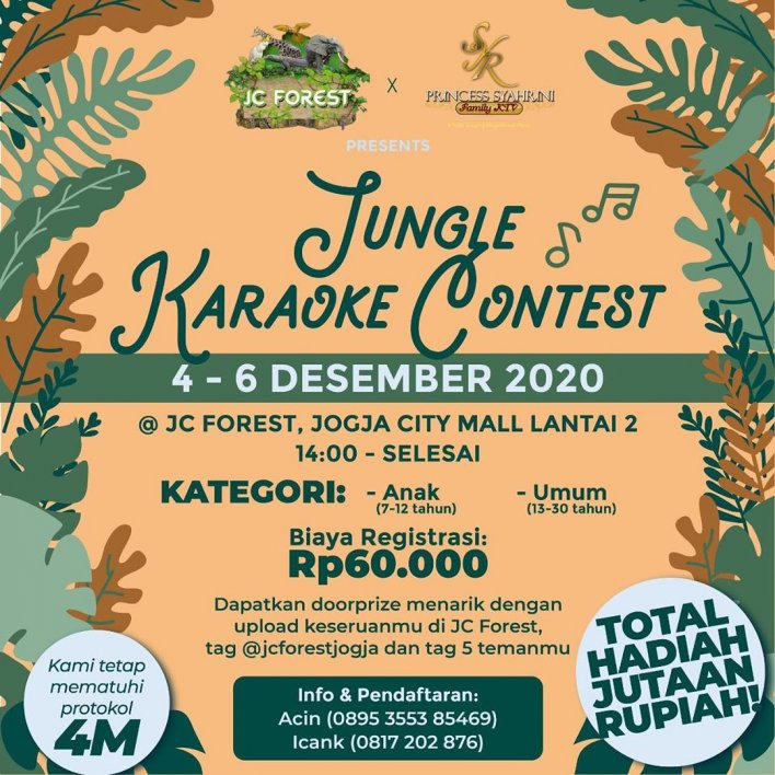 Jungle Karaoke Contest