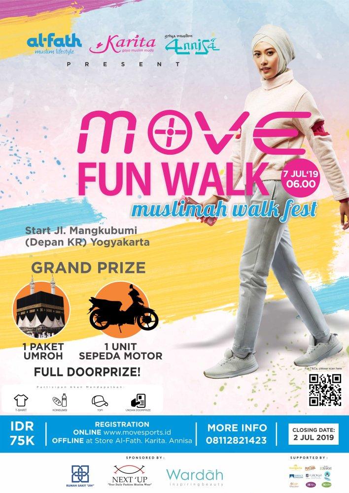MOVE FUN WALK - Muslimah Walk Fest