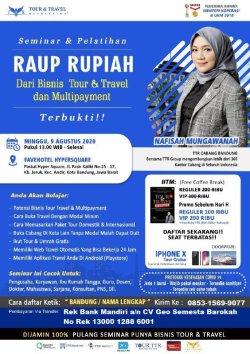 Seminar Tour Travel & Multi Kurir di Bandung