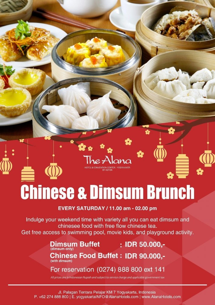 Chinese & Dimsum Brunch