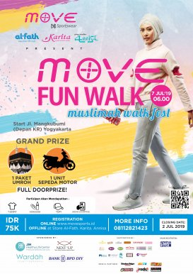 MOVE FUN WALK - Muslimah Walk Fest