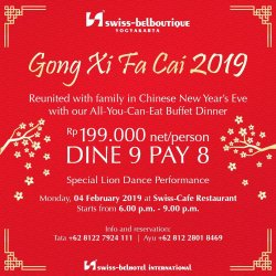All-You-Can-Eat Buffet Dinner to Celebrate Your Chinese New Year!