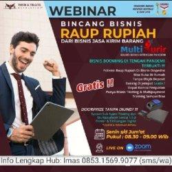 Seminar Online Multi Kurir setiap hari